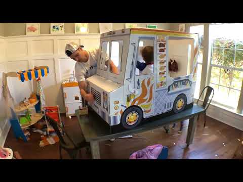 Food Truck Build Melissa And Doug Faster Than Jimmy
