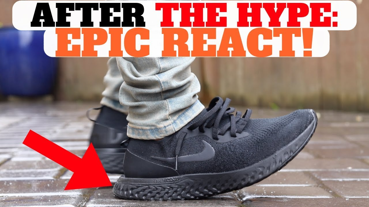 e11c8fd59aba AFTER THE HYPE  Nike Epic React Flyknit (6 MONTHS LATER PROS   CONS ...