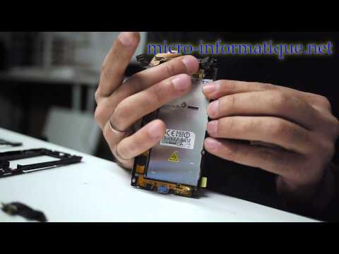 Changement Tactile lcd Lg optimus L7