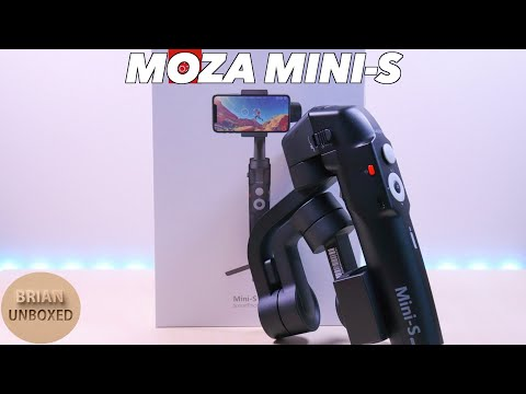 Moza Mini S - Foldable Smartphone Gimbal (Review & Demo)