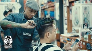 OIS - People & Places - Liem Barber Shop, Story of The Two