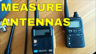 Measurements of portable antennas