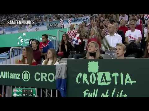 Juan Martin del Potro vs Marin Cilic Davis Cup 2016 Final (Highlights HD)