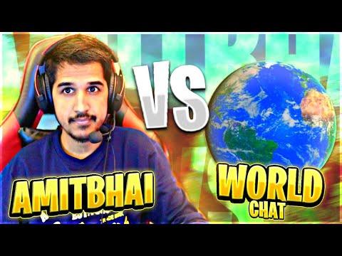 AmitBhai Vs World 😂🔥    1v1 Clash Squad    Free Fire - Desi Gamers