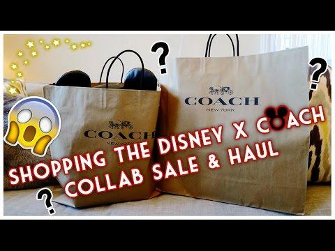 SHOPPING THE DISNEY X COACH COLLAB SALE & HAUL