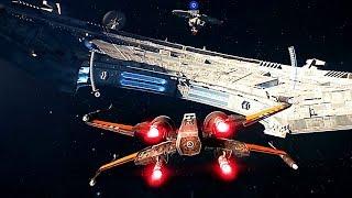 STAR WARS BATTLEFRONT 2 Starfighter Assault (10 minutes de Gameplay)