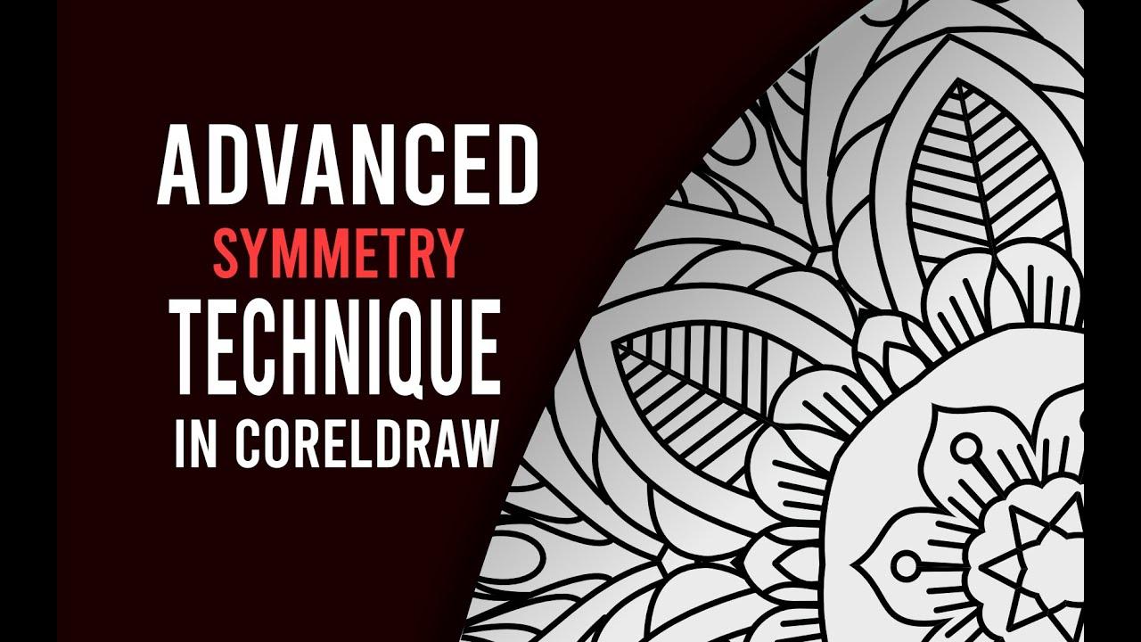 Corel Draw Tutorial – Advanced Tehnique With Symmetry Tool