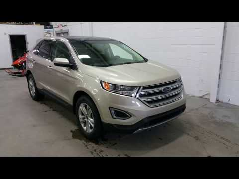 2017 Ford Edge SEL W/ Power Liftgate, Sunroof, Projection Lighting Review | Boundary Ford
