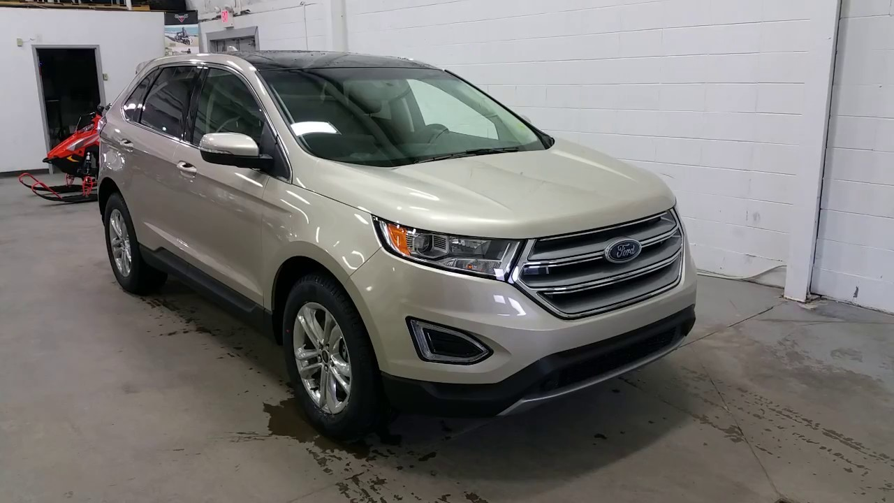 Ford Edge Sel W Power Liftgate Sunroof Projection Lighting Review Boundary Ford