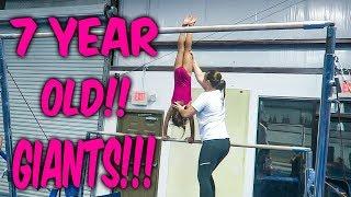 Coach Life: 7 Year Old Gymnast GIANTS| Rachel Marie