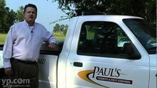Tallahassee Exterminators Paul's Termite and Pest Control