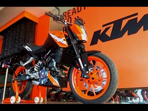 KTM Duke 200 2017 Walkaround (3 colours), Ownership Experience, Service Cost