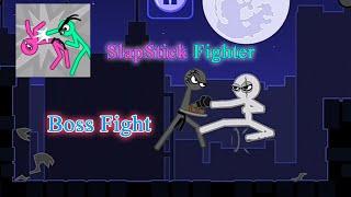 Slapstick Fighter - Stickman Boss Fight Level Gameplay screenshot 5