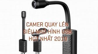(Siêu HOT 2019) Camera siêu nhỏ không dây ngụy trang đầu USB kết nối wifi điều khiển điện từ xa