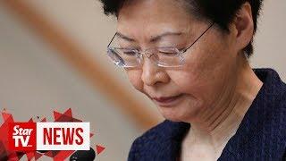 Hong Kong leader sees 'way out' of chaos through dialogue