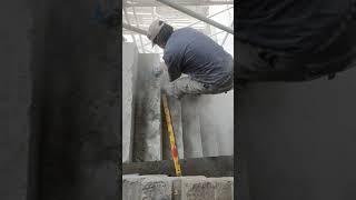 2886. 외부 계단 노출 바닥 연마 작업입니다. 홈페…