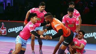 Pro Kabaddi 2018 Highlights | U Mumba Vs Jaipur Pink Panthers | Hindi