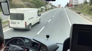 Ali Osman Ulusoy ile  OF-Trabzon-İstanbul Travego 61 S 1420  (4K Kalite)