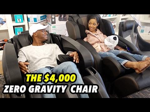 THE $4,000 ZERO GRAVITY CHAIR
