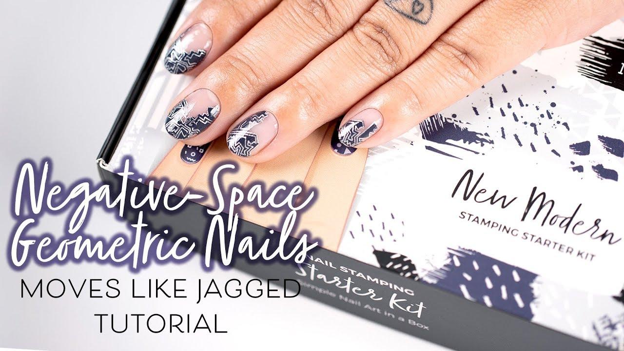 New Modern: Nail Stamping Starter Kit - Plates, Polishes, Scraper ...