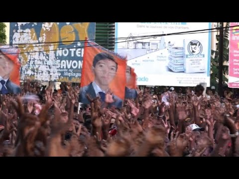 Madagascar : meeting du candidat Andry Rajoelina