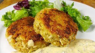Louisiana Crab Cakes With Creole Tartar Sauce. Thescottreaproject