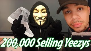 Reseller Makes $228,000 In 48 Hours Selling Yeezy Boost!