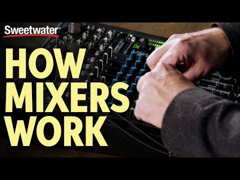 How Audio Mixers Work – What Is A Mixer & What Does It Do? | Live Sound Lesson