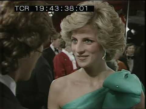 Princess Diana | Queen Mother | |Royal Film Premier | A Passage to India | 1985