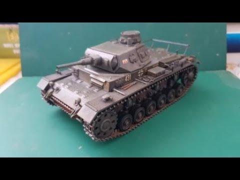 Сборка модели Звезда 3549 - Самоходка Штурмгешутц III (StuG III Ausf.F) - шаг 4. Смывка и масляные точки