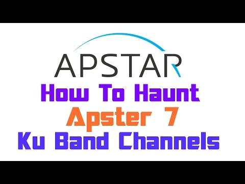 Dish Setup   Apstar 7 @76.5°E   Ku Band Channels   On 90cm Dish