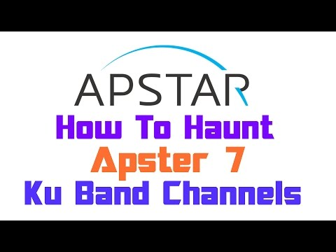 Dish Setup | Apstar 7 @76.5°E | Ku Band Channels | On 90cm Dish