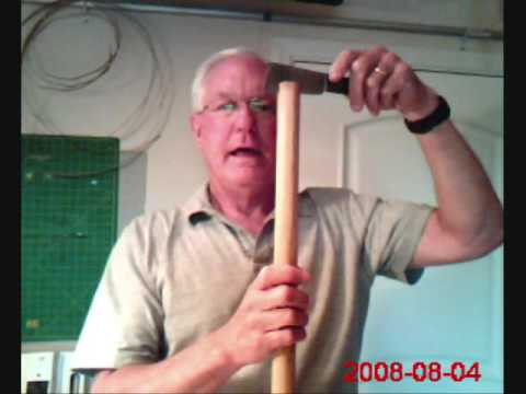 How To Split A Bamboo Pole