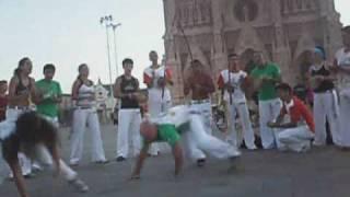Capoeira Corpo e Magia Roda en la Catedral de Lujan