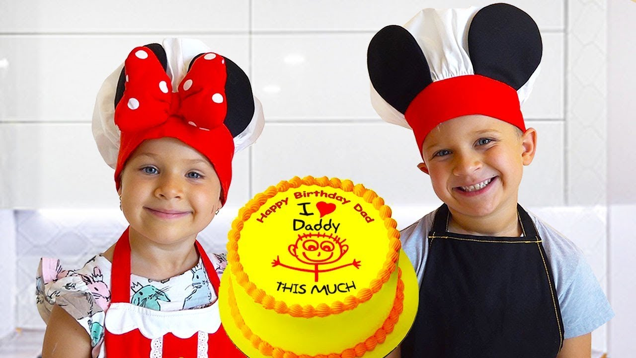 Diana and Roma are preparing a Surprise for Dad's birthday