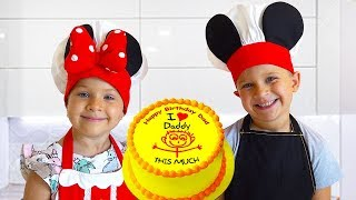 Download Diana and Roma are preparing a Surprise for Dad's birthday Mp3 and Videos