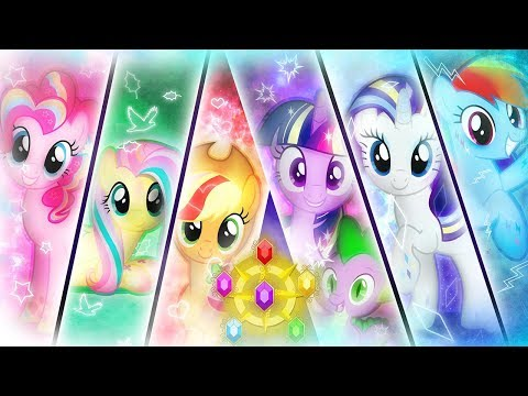 My Little Pony Friendship is Magic Rainbow Power Runners FUL