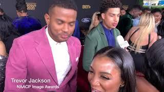 Trevor Jackson NAACP Image Awards