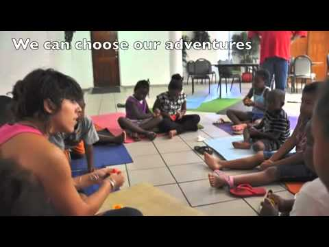 Yoga Gangsters at St. Paul's Summer Camp in Little Haiti