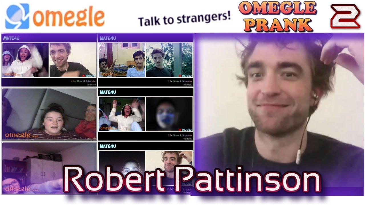 ROBERT PATTINSON ON OMEGLE | KRISTEN STEWART ON OMEGLE