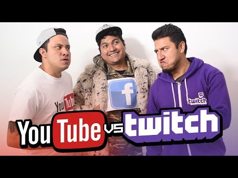 Sketch: Youtube Vs Twitch I Ft: Luisito rey