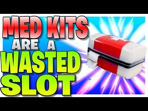 Is The Med Kit A Wasted Slot? (Fortnite Battle Royale)