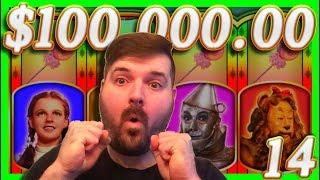 $100,000.00 In SLOT MACHINE WINS!💰14💰 Half JACKPOTS W/ SDGuy1234