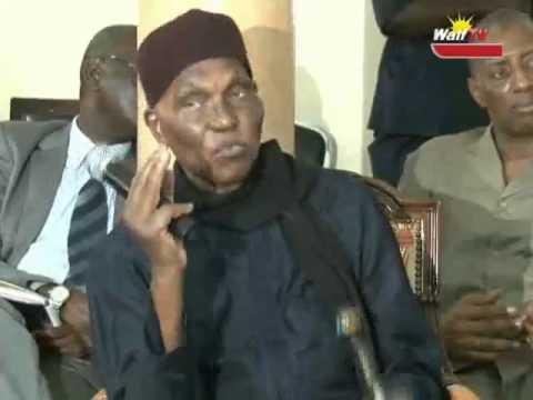 Me Abdoulaye WADE très en colère contre Fada (REGARDEZ LA VIDEO)