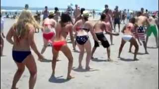 The Wobble Flashmob - Avalon, NJ