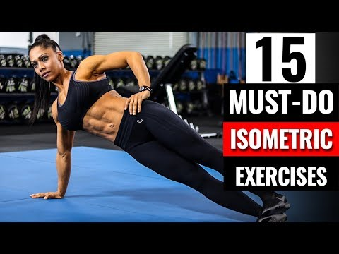 QUIT DOING CRUNCHES  | 15 Must-Do Isometric Core Exercises For a STRONG Six Pack