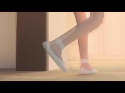Мультфильм 3d балерина