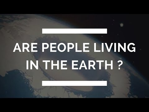 Do People Live in The Earth ?