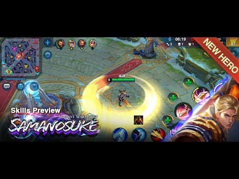 Skills Preview - Samanosuke Vagrant War Ghost