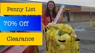 Penny Shopping List & Clearance For Dollar General 9/17/19